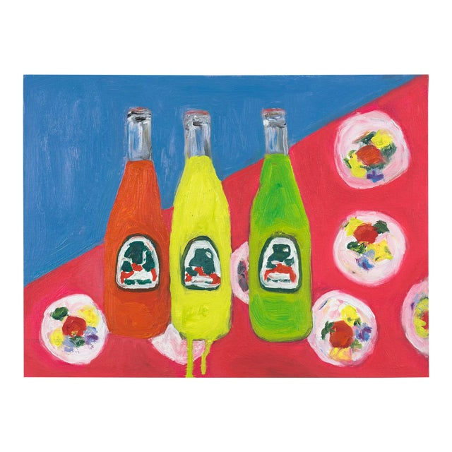 """""""3 Sodas"""" Oil Painting For Sale"""