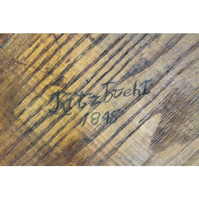 Brown German Carved Oak Coat of Arms For Sale - Image 8 of 9