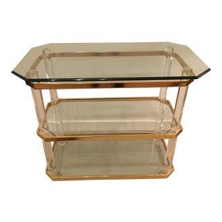 Vintage three tier table