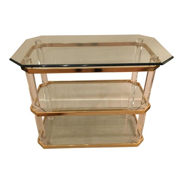 Vintage three tier table - Image 1 of 8