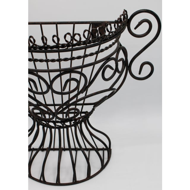 French French Garden Wall Jardiniere For Sale - Image 3 of 12