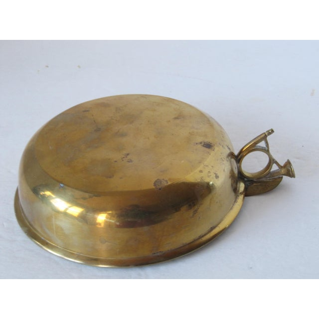 English Traditional Brass Fox Hunting Horn Bowl For Sale - Image 3 of 4