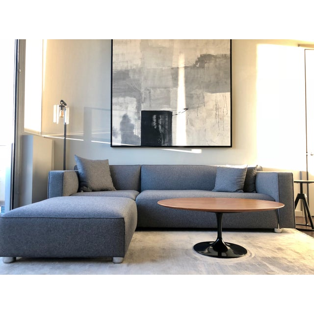 Beautiful sofa in excellent condition! We have only had the sofa for 4 months with very minimal use. - 3 Pillows - Ottoman...