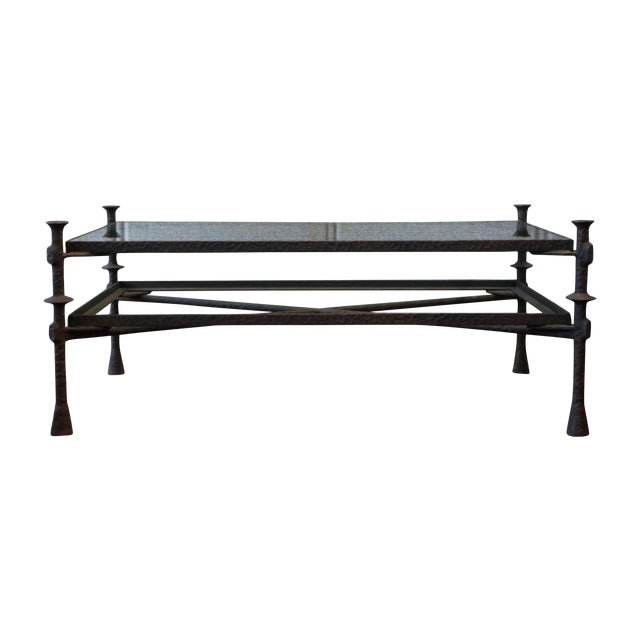 Diego Giacometti Style Coffee Table - Image 1 of 5
