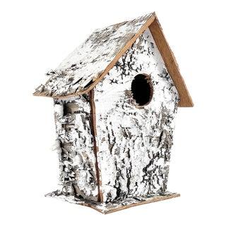 Rustic Birch Tree Bark Birdhouse