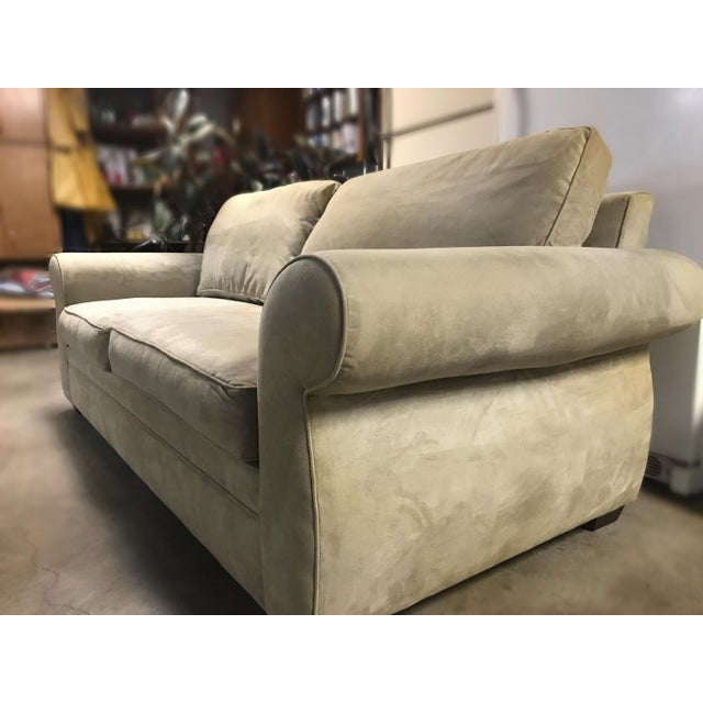 comfort barns box barn edge loveseat roll pb cotton sofa cushion and in washed pin slipcovered potterybarn pottery linen