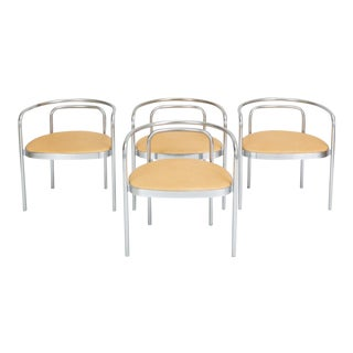 Set of Four Pk-12 Dining Chairs by Poul Kaerholm for E. Kold Christensen For Sale