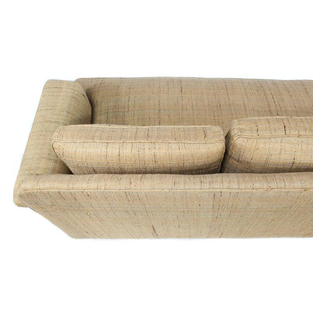 FOUR-SEAT SOFA BY EDWARD WORMLEY FOR DUNBAR For Sale - Image 9 of 9