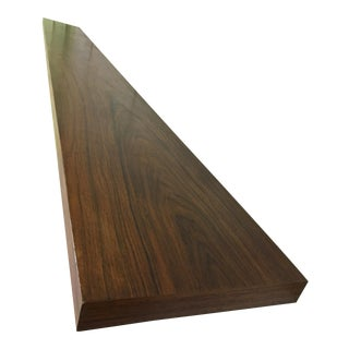Charles Webb Extra Long Walnut Shelf For Sale