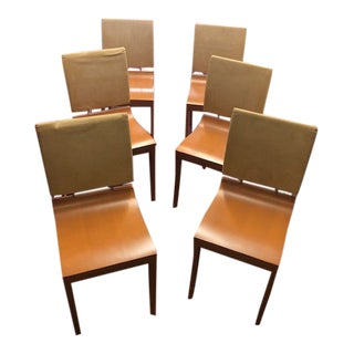 Mid 20th Century Ligne Roset Chairs - Set of 6 For Sale