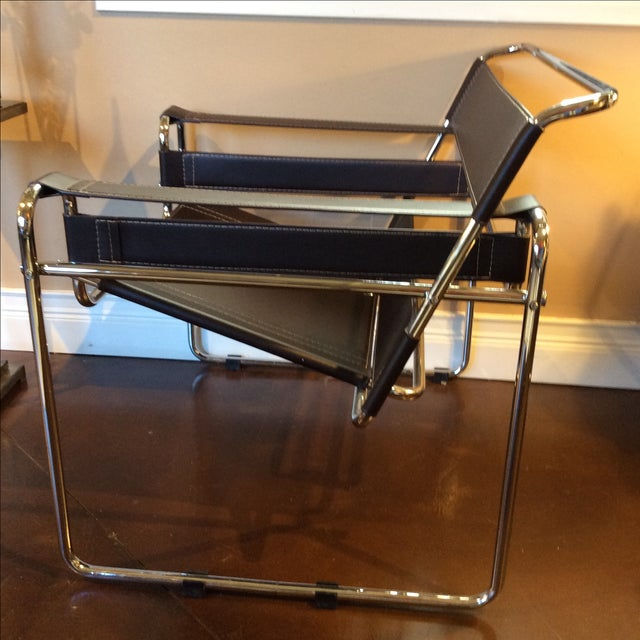 Brown Eames Breuer Wassilly Chair - Image 4 of 10