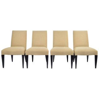 Set of Four Donghia Serpentine Chairs