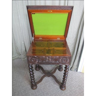 19th Century Swedish Scandinavian Gothic Sewing Table Preview