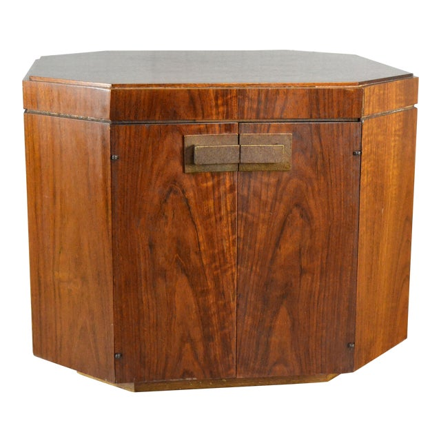 Vintage Founders Furniture Cabinet Table For Sale