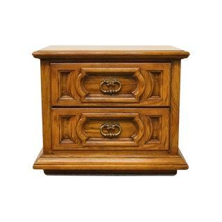 20th Century Spanish Thomasville Furniture Levitz Collection Nightstand For Sale