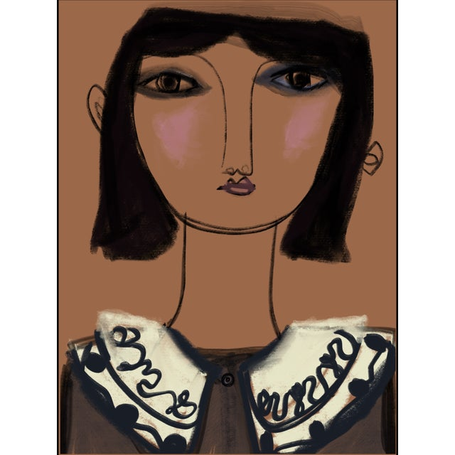 "Inspired by ""Imparfaite"" French fashion, I present to you ""Hilda"" a one of a kind! A Limited Edition Art Print of 5,..."