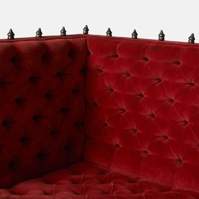 Baroque Elizabeth Garouste and Matti Bonetti Mars Sofas For Sale - Image 3 of 10