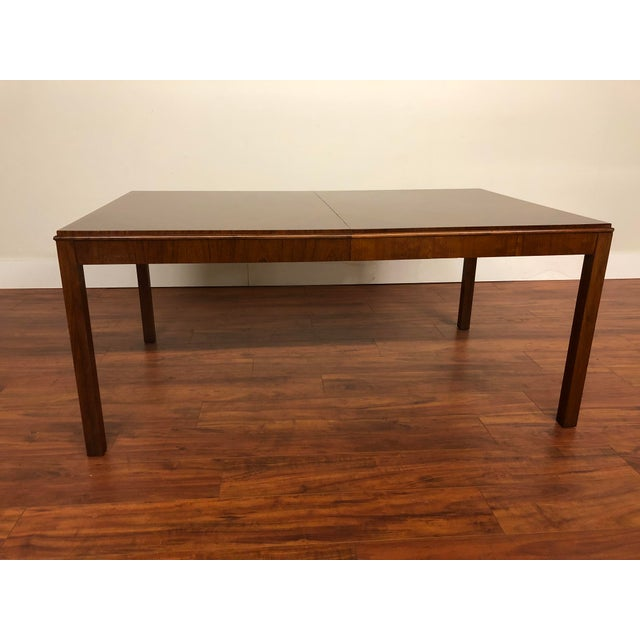 1970s Maurice Villency Expandable Dining Table For Sale - Image 5 of 13