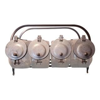 1930s Vintage 8 Jar Caramelera For Sale