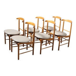 1950s Greta Magnusson Grossman Dining Chairs - Set of 6 For Sale