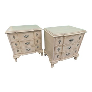 Vintage French Provincial Night Stands - A Pair