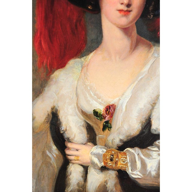 """Lady Peel"" after Sir Thomas Lawrence For Sale - Image 5 of 9"
