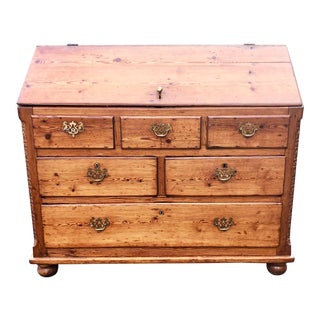 Early 19th Century Country Store Pine Desk or Secretary For Sale