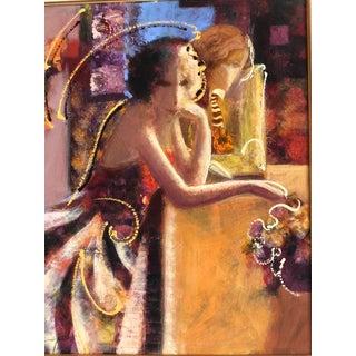 1970s Impressionist Mahmoud Sabzi Oil on Canvas Preview
