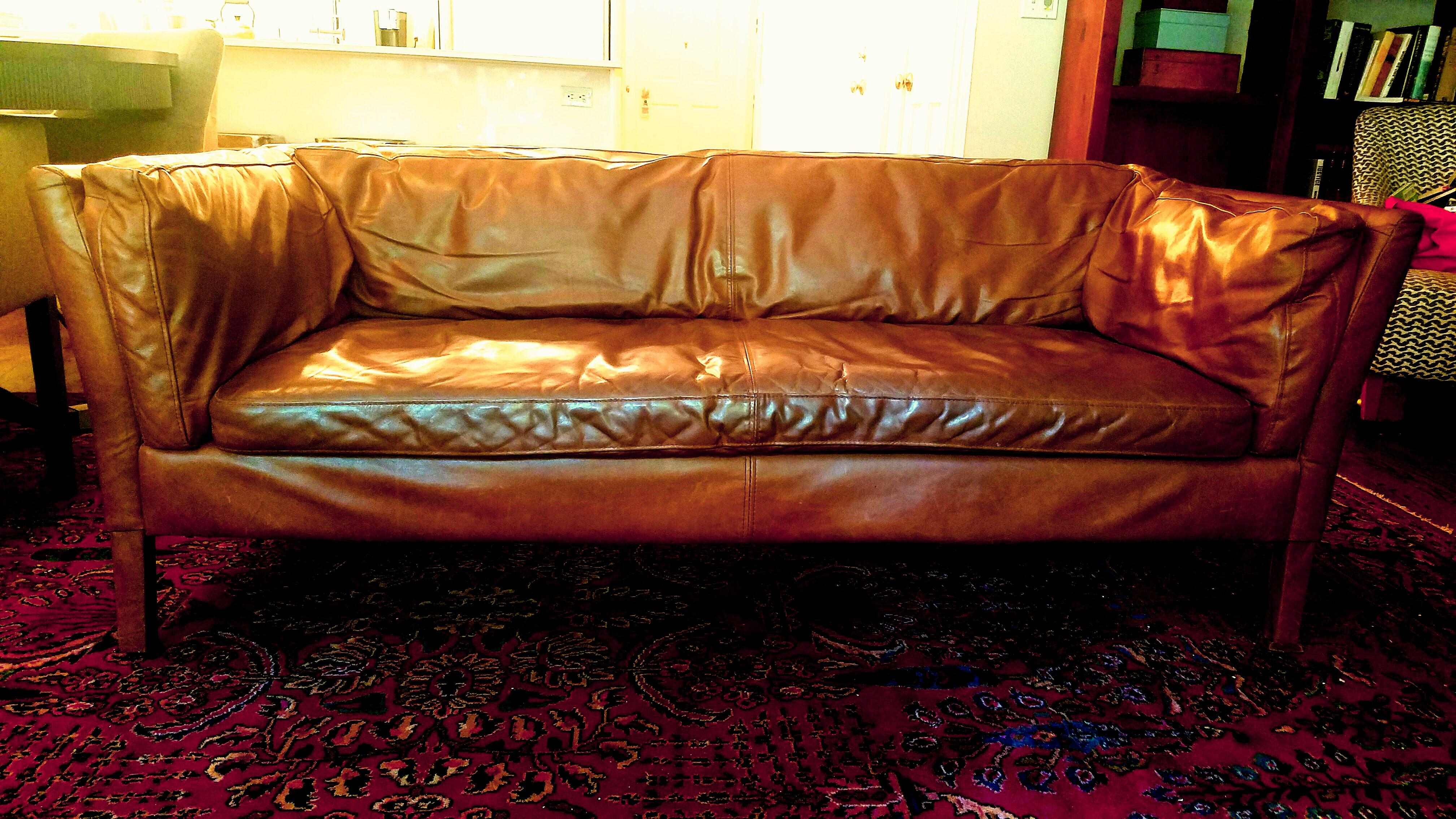 We Bought This Wanscher Style Sofa From Restoration Hardware Last Year, And  We Love