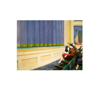 Edward Hopper, First Row Orchestra, Edition: 2000, Offset Lithograph, 1994 For Sale