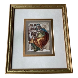 Small Neoclassical Framed Print For Sale