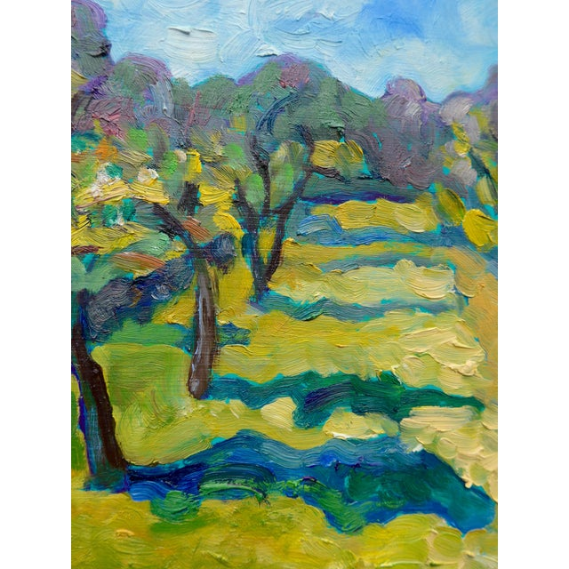 French Orchard in the Spring Plein Air Painting - Image 7 of 7