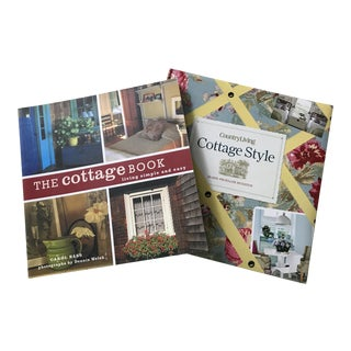 Cottage Style Decorating Books - a Pair