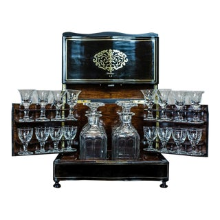 19th-Century Napoleon III Liquor Case For Sale