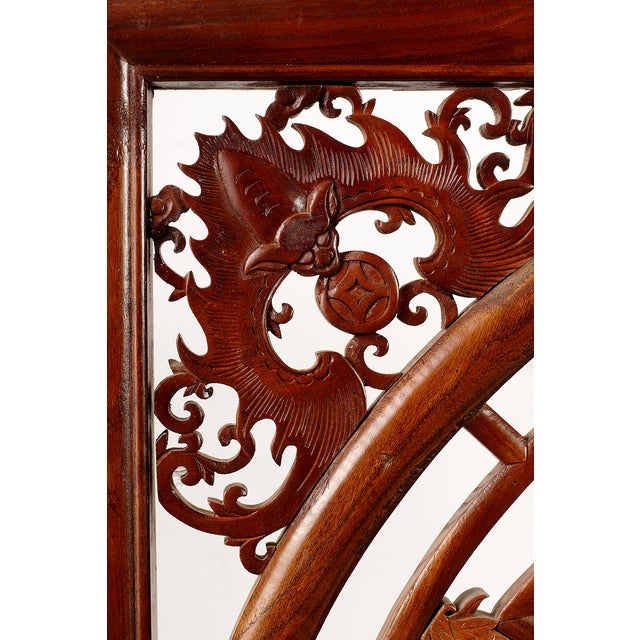 Vintage Chinese Fretwork Panel For Sale - Image 4 of 5