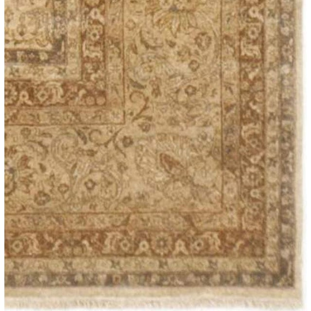 """Fabric Handmade Indian Master Piece Rug - 8'8""""x 11'10"""" For Sale - Image 7 of 7"""