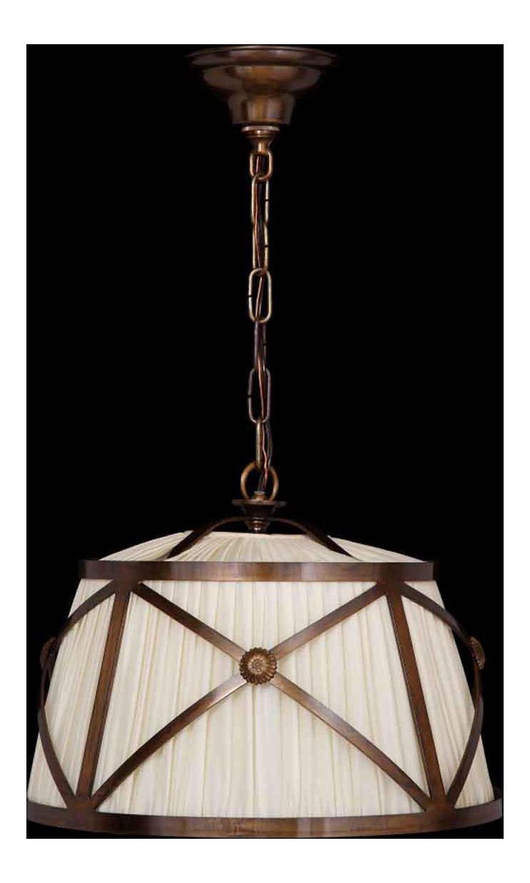 Image of: Bronze Finish Drum Shade Pendant Light Chairish