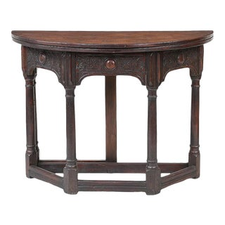 William & Mary Gate Leg Table For Sale