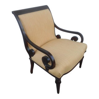 French Fireside Accent Arm Chair