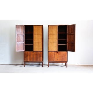 1960s Mid Century Modern Jack Cartwright for Founders Walnut Armoire Dressers - a Pair Preview