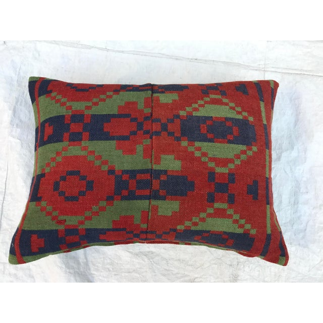 Southwestern Style Wool Blanket Pillow Chairish