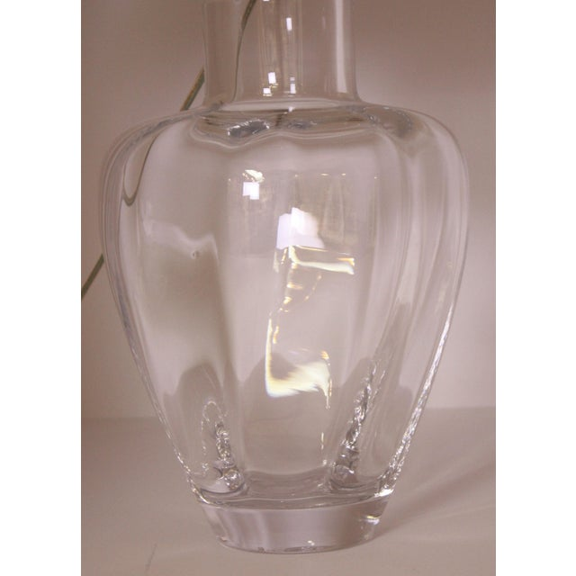 Crystal Lamp by Simon Pearce For Sale - Image 4 of 6
