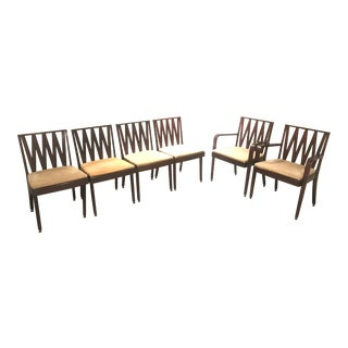 Paul Frankl Dining Chairs - Set of 6