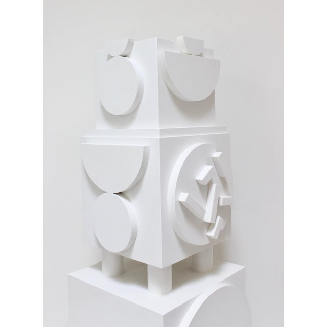Abstract Column No. 2 by Angela Chrusciaki Blehm For Sale - Image 3 of 6