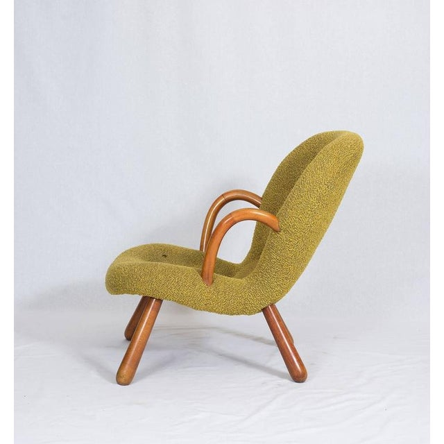 "1940s Pair of Philip Arctander ""Clam"" Chairs For Sale - Image 5 of 10"