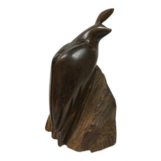 Vintage Carved Ironwood Quail For Sale