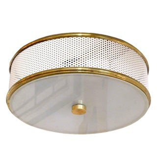 French Flush Mount Light For Sale