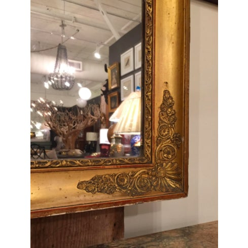 French French Empire Pier Mirror For Sale - Image 3 of 5
