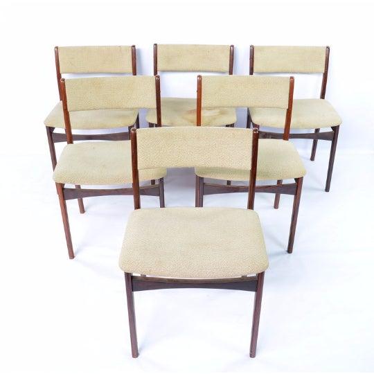 Mid-Century Modern Danish Chairs - Set of 6 - Image 2 of 6