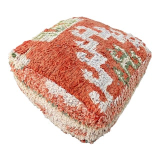 Gorgeous Moroccan Handmade Pouf Cover For Sale